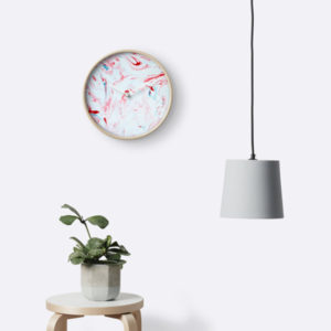 marble-red-white-and-blue-patriotic-modern-swirl-stone-peppermint-candy-stone-clock