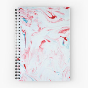 marble-red-white-and-blue-patriotic-modern-swirl-stone-peppermint-candy-taffy-spiral-notebook-journal