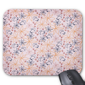 pink-pawprint-dog-hearts-floral-mouse-pad-computer-pattern